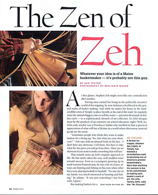 The Zeh of Zeh - Down East  May 2007