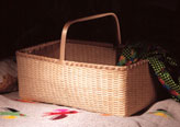 Quilt Basket - hand crafted by Stephen Zeh