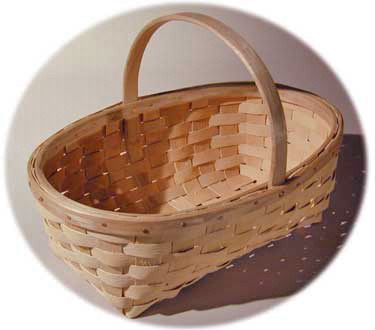 Garden Baskets Maine garden baskets hand crafted of brown ash by