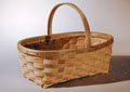 Garden Basket - hand crafted by Stephen Zeh