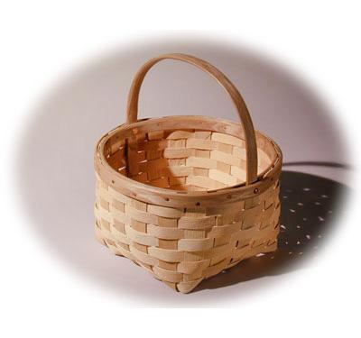 Garden Baskets Maine garden baskets hand crafted of brown ash by